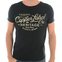 Biaggio - Tee Fereol Ml Men Nr - Tee-shirt Homme Jeans