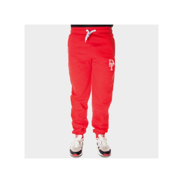 Distinct by Rohff - Bas de jogging Distinct Rouge Training en molleton by  Rohff e7ce4a9390c
