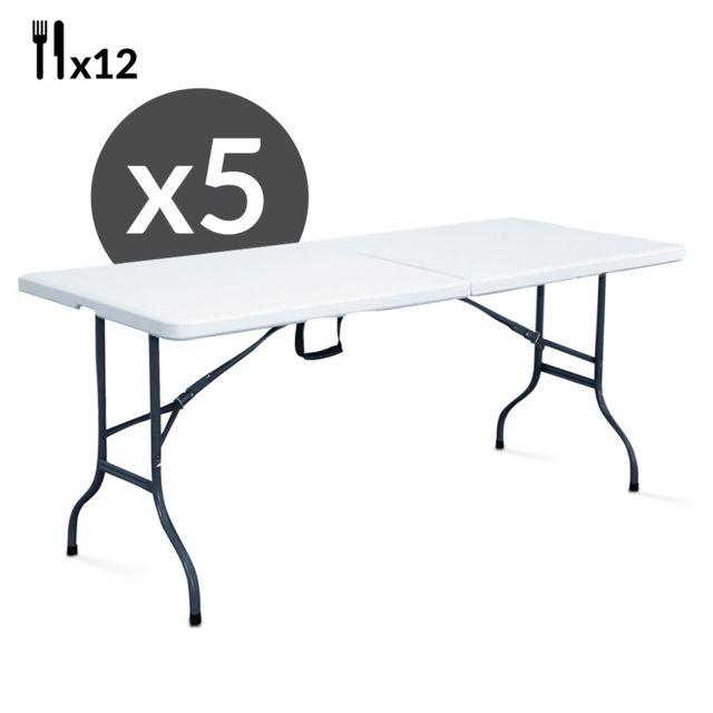 tables pliantes pas cher