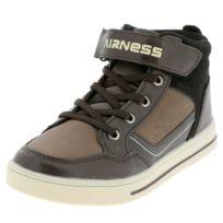 on sale 3a32f d8a6b Airness - Chaussures scratch Casey marron mid k Marron 38345