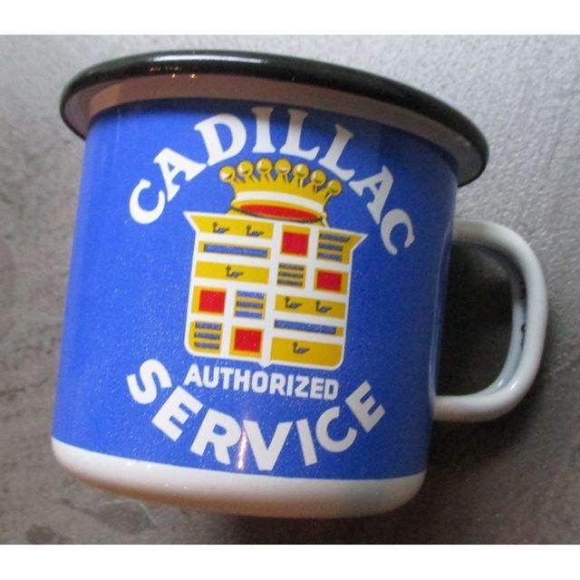 Universel Mug cadillac service en email tasse à café emaillée voiture