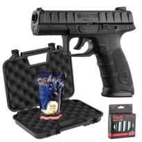 BERETTA - Pack apx - CO2 + mallette Noire + 5 capsules de CO2 + 3000 billes 0,25g G&G