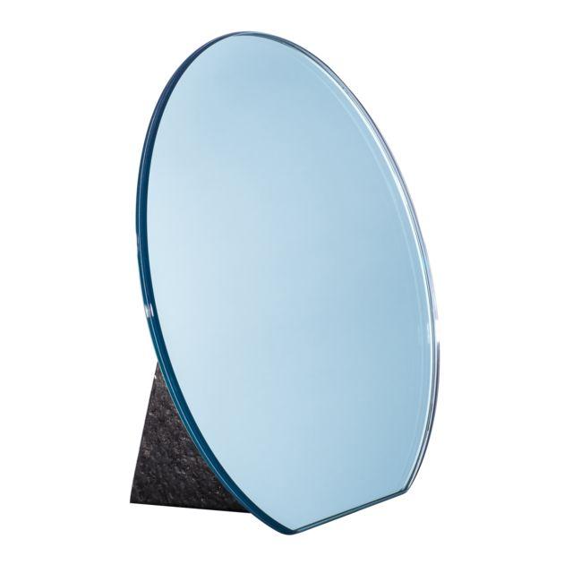 Pulpo Mirroir de table Dita - bleu clair