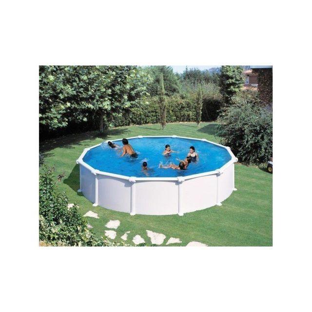 Gre Pools Kit Piscine Hors Sol Acier Ronde Atlantis Pas Cher