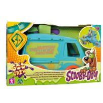 Scooby Doo - Figurine Véhicule Deluxe Mystery Van et Baril de Gel