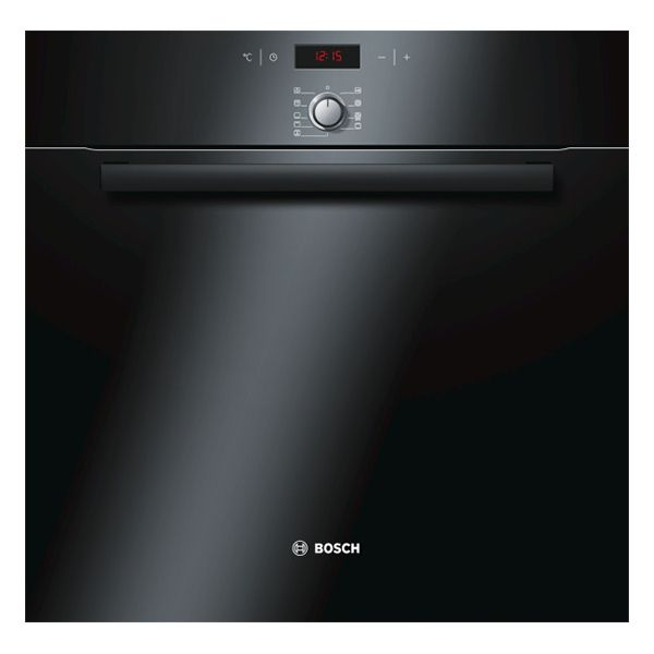Bosch - four intégrable 60l 60cm a pyrolyse noir - hba64b261f