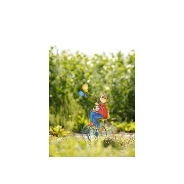 L'oiseau bateau - L\'oiseau bateau - Triplé ballons roues bleues - Tri0017