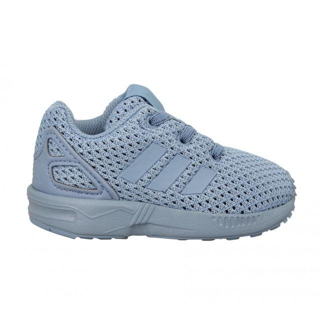 Adidas Zx Flux toile Enfant 22 Bleu pas cher Achat