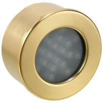 Sische - 601042 - Spot à Encastrer - Led - 2,5 W - Blanc - Chaud Laiton - Dépoli