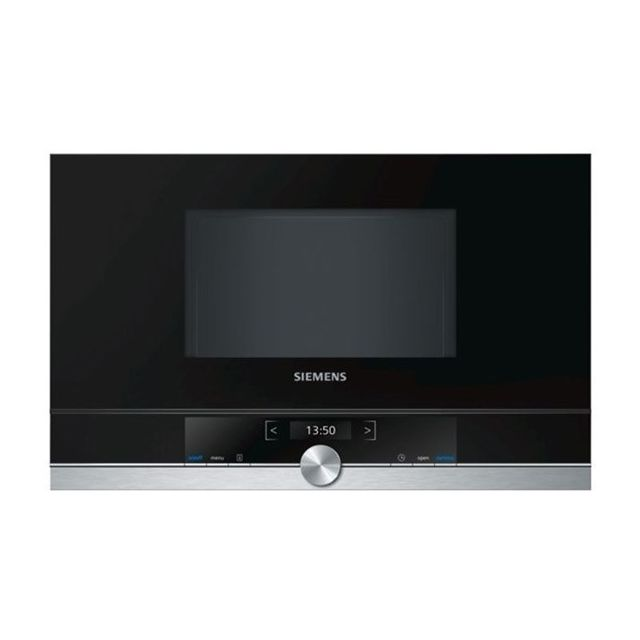 Totalcadeau Micro ondes encastrable à écran de commande tactile - 31,8 x 59,4 x 38,2 cm Couleur Inox Ecran Tft 2.8