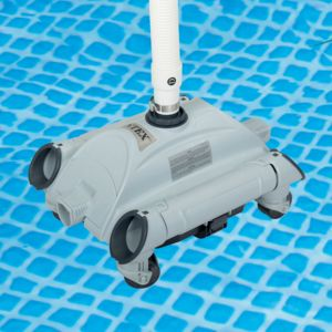 Intex robot aspirateur de fond pour piscine hors sol for Aspirateur spa intex