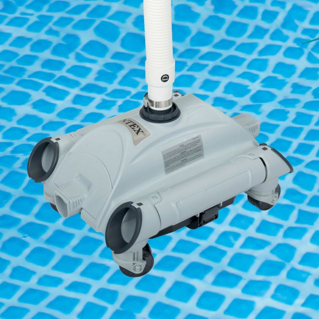 Intex Robot Aspirateur De Fond Pour Piscine Hors Sol Cleans Pas
