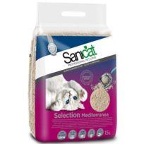 Sanicat - Litiere Mediterránea 15l - Pour chat