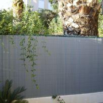 Fence Garden - Canisse brise vue couleur gris perle - Jet7GARDEN Dimensions : 1,50 m x 3 m