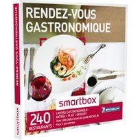 Smartbox - Rendez-vous gastronomique - 240 restaurants avec 108 restaurants issus du guide Michelin - Coffret Cadeau