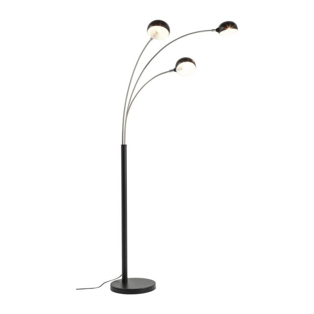karedesign lampadaire three fingers noir kare design 30cm x 80cm x 158cm pas cher achat. Black Bedroom Furniture Sets. Home Design Ideas