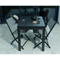 Table de Jardin Extensible Nina L.70/140xl.70xH.75cm