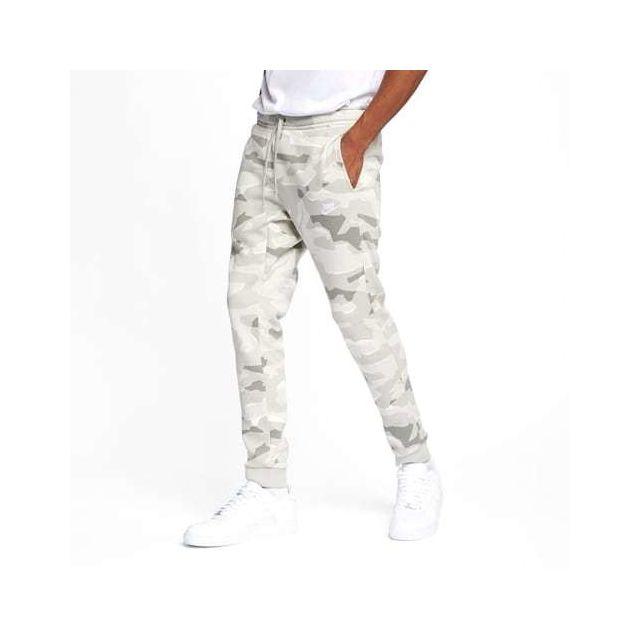 quality cozy fresh get cheap Nike - Pantalon Sportswear Jogger imprimé camouflage blanc ...