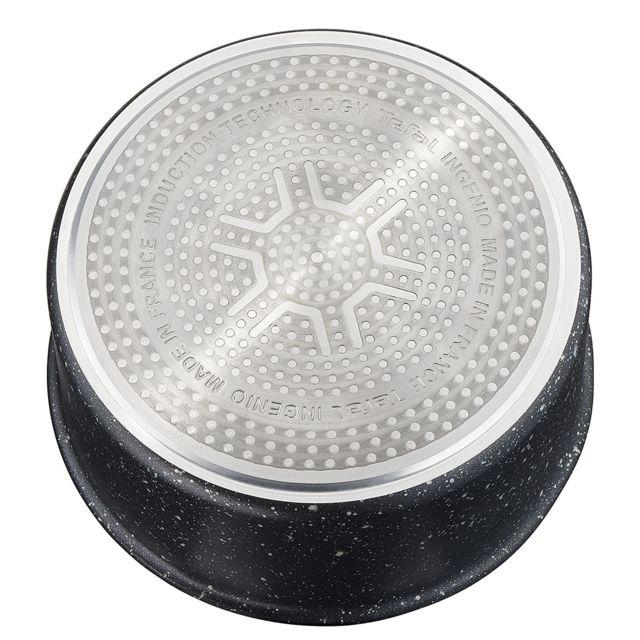 Tefal - Ingenio Authentic - Lot de 3 casseroles de 16, 18 et 20 cm avec poignée amovible - L6719012