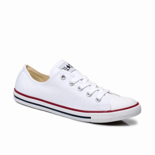8d25f7f7cac81 Converse - Chuck Taylor Dainty White Trainers-UK 4 - pas cher Achat   Vente  Baskets femme - RueDuCommerce