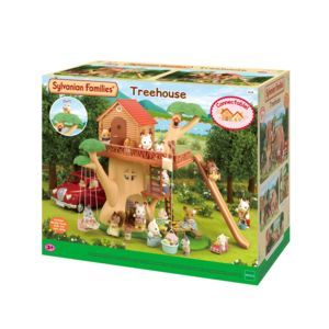 sylvanian families cabane dans les arbres sylvanian 4618 pas cher achat vente mini. Black Bedroom Furniture Sets. Home Design Ideas