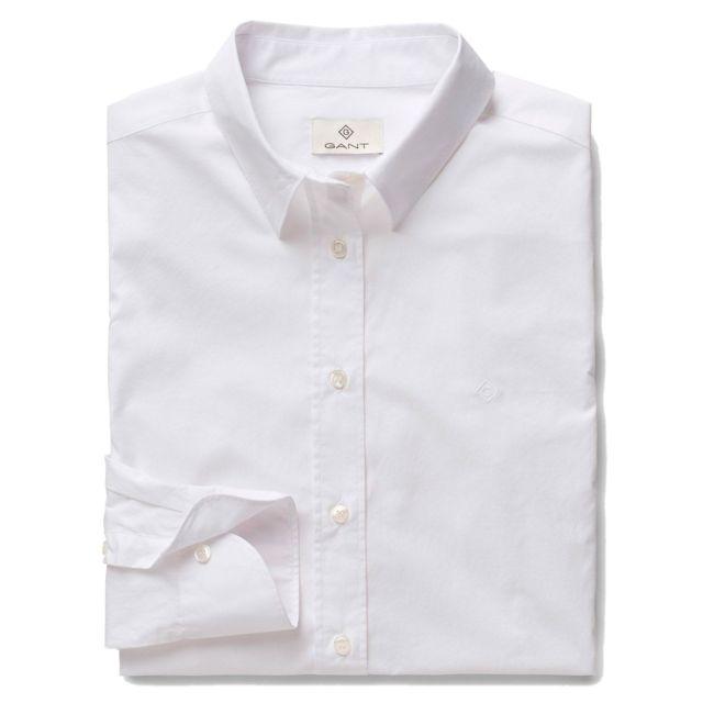 Gant Femme 18034350022110 Blanc Coton Chemise