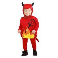 Widmann - Déguisement diable Halloween bébé 1 à 3 ans