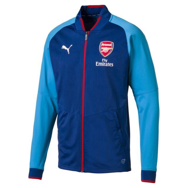 f82b6cbbfe5ed Puma - Veste Arsenal Fc Stadium Jacket - pas cher Achat / Vente ...