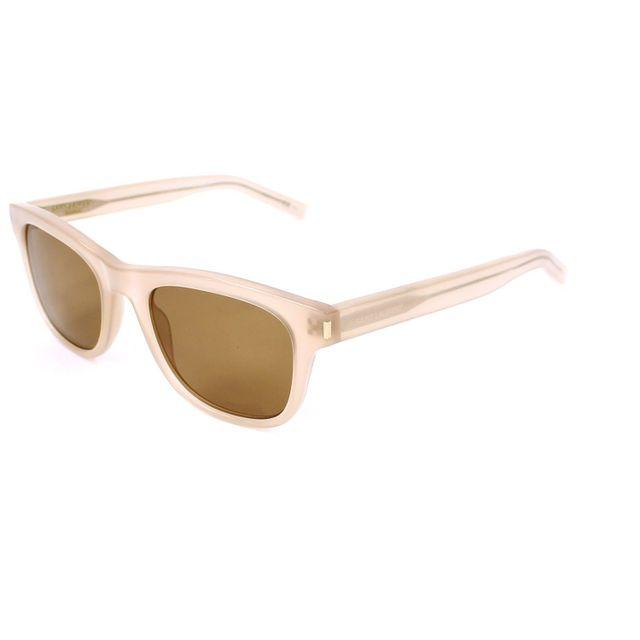 Yves Saint Laurent - Classic 2 12E5V Beige transparent - Lunettes de soleil ec692736eead