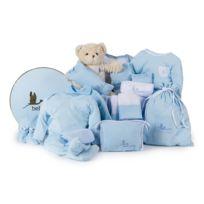 Bebedeparis - Corbeille naissance songe classique bleu