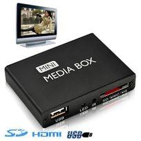 Yonis - Mini passerelle multimédia lecteur vidéo Hd 720p Hdmi Tv Sd Usb