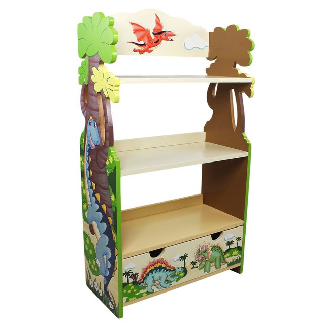 FANTASY FIELDS Bibliothèque à tiroirs Dinosaur