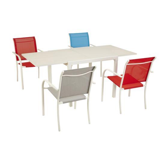 Table Tello extensible 90/180 cm - Taupe à Prix Carrefour