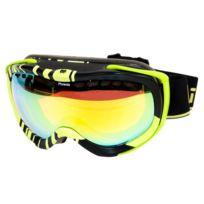 Cairn - Masque de ski Phoenix nr/anis miroir c3 Noir 53140