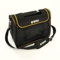 Vito Pro-power - Boite à outils sacoche multifonction Vito Professionnelle Poignée acier renforcée Nylon haute Qualité Sac bandoulière