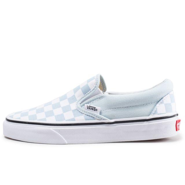 vans bleu et blanche