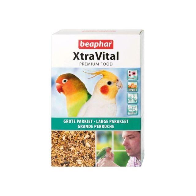 Beaphar Alimentation complete XtraVital - Pour grandes perruches - 1kg