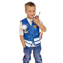SAM LE POMPIER - Kit de déguisement Pompier - 109250745002N