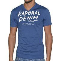 Kaporal 5 - Kaporal - T-shirt Manches Courtes - Homme - Prokie 11 - Bleu