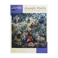 Pomegranate - Joseph Stella - Battle of Lights, Coney Island: 1,000 Piece Puzzle