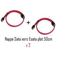 Cabling - nappe eSATA-SATA 50cm X 2
