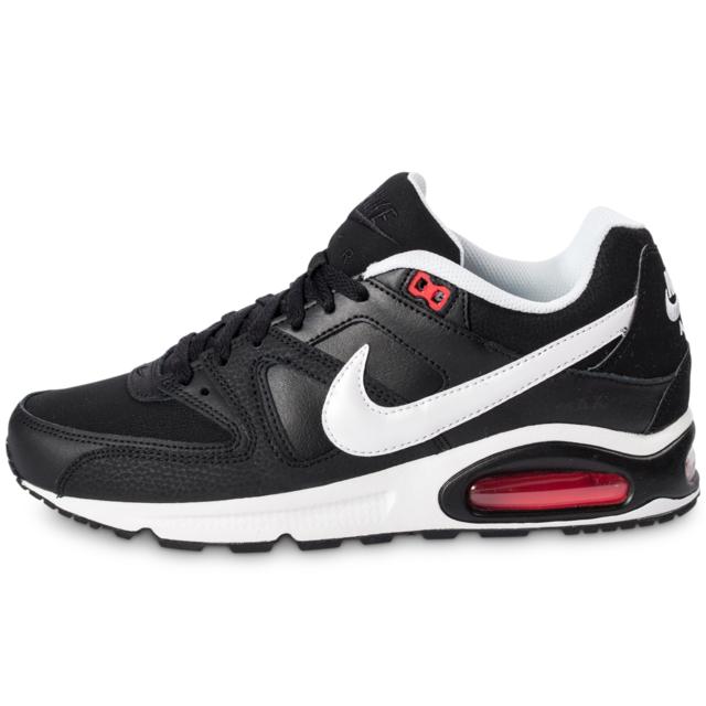 newest 6c457 762fd Nike - Nike Air Max Command Noire Et Blanche - Baskets