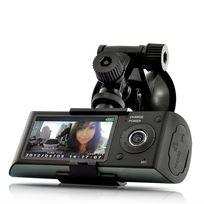 Shopinnov - Boite noire voiture Dashcam Double camera G-sensor Ecran 2,7 pouces