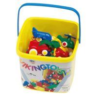 Viking Toys - mini vehicule plastique - seau de 25