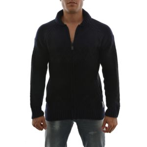 scotch and soda gilets cardigans 101644 bleu pas cher achat vente gilet homme rueducommerce. Black Bedroom Furniture Sets. Home Design Ideas