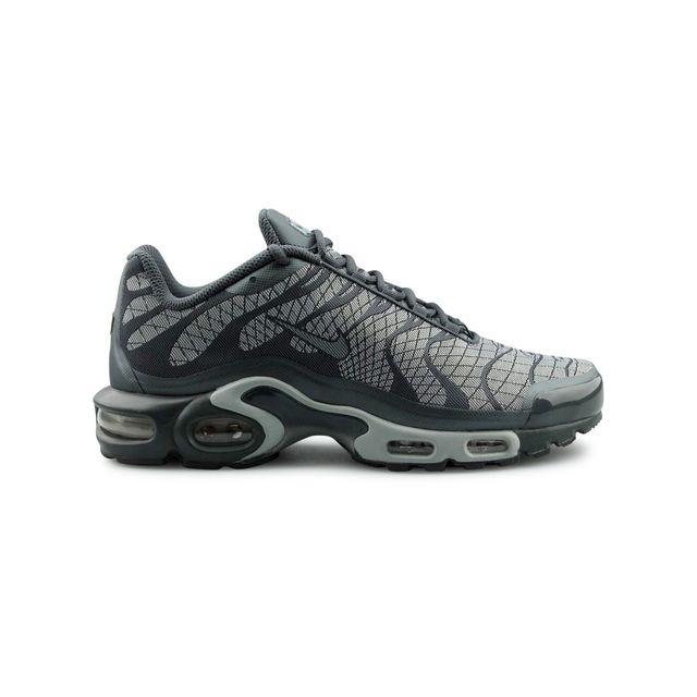 sale retailer edc89 7d8c1 Nike - Air Max Plus Tn Jacquard Gris - pas cher Achat   Vente Baskets homme  - RueDuCommerce