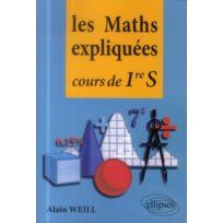 Ellipses Marketing - les maths expliquées ; cours de Première S