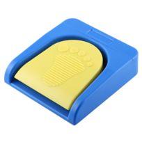 Wewoo - Mini Clavier Qwerty Pcsensor Bluetooth Usb Single Foot Switch Contrôle Une Clé Personnalisé Ordinateur Action Pédale Bleu