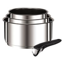 TEFAL - Set 3 casseroles Ingenio Preference 16/18/20 cm inox