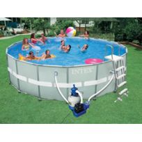 INTEX - Piscine tubulaire Ultra Frame 5,49 x 1,32 m